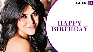Ekta Kapoor Birthday: टीवी क्वीन एकता कपूर के जन्मदिन पर बॉलीवुड सितारों ने इस अंदाज में दी बधाई