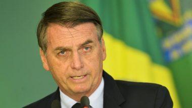 ब्राजील के राष्ट्रपति जेयर बोल्सोनारो ने WHO से ब्राजील को निकाल लेने की दी धमकी