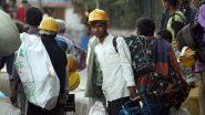 दिल्ली: लॉकडाउन में रोजगार चले जाने और कोरोना के डर से गांव लौट हुए प्रवासी मजदूरों ने रोजगार के लिए फिर किया शहरों की तरफ रुख
