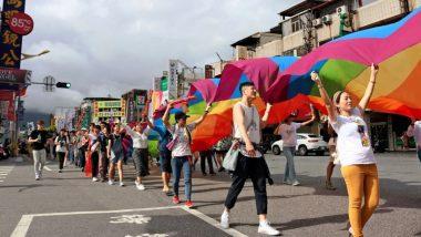 ताइवान में LGBT प्राइड परेड का आयोजन, COVID-19 पर नियंत्रण का संकेत