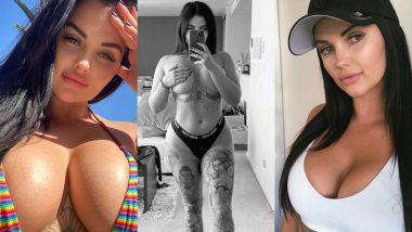 Porn Star Renee Gracie Hot Photos: पोर्न इंडस्ट्री में नाम बना रही रेनी ग्रेसी के ऐसे ही नहीं हैं लोग दीवाने, तस्वीरें उड़ा देंगी आपके होश