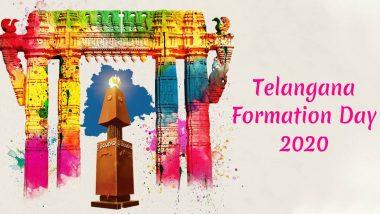 Telangana Formation Day 2020 Wishes & Greetings: तेलंगाना राज्य स्थापना दिवस पर इन WhatsApp Stickers, Facebook Messages, GIF Images, HD Wallpapers के जरिए दें अपनों को शुभकामनाएं
