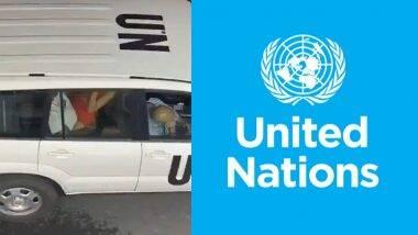 इजरायल: व्यस्त सड़क पर कार में सेक्स करते UN के अधिकारी का वीडियो वायरल, संयुक्त राष्ट्र ने शुरू की मामले की जांच