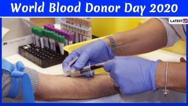 World Blood Donor Day 2020: रक्तदान दे सकता है दूसरों को जीवन दान, जानें इस दिवस का इतिहास और महत्व