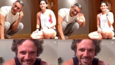 बेटी इरा खान के लाइव वर्कआउट सेशन में पहुंचे आमिर खान, इंटरनेट पर Viral हुआ Video