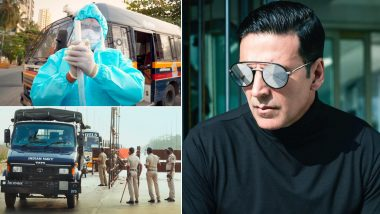 COVID-19: अक्षय कुमार ने मुंबई पुलिस और डॉक्टरों को किया सलाम, ट्विटर पर शेयर किया नया गाना 'रख तू हौंसला'