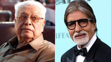 Basu Chatterjee Death: बासु चटर्जी के निधन पर अमिताभ बच्चन ने जाहिर किया शोक, लेजेंडरी फिल्म मेकर के लिए कह दी ये बात