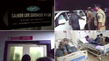 आंध्र प्रदेश के विशाखापट्टनम की फार्मा कंपनी में गैस लीक, दो की मौत, 4 की हालत बेहद गंभीर