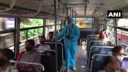 कर्नाटक: PPE किट पहनकर ड्यूटी करता दिखा बस कंडक्टर, लॉकडाउन 4 के दौरान राज्य सरकार ने बस सेवाओं को फिर से शुरू करने की दी थी अनुमति