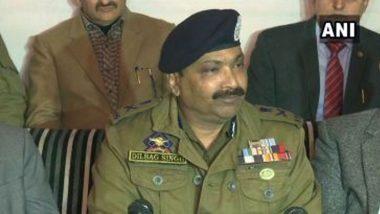 जम्मू-कश्मीर: डीजीपी दिलबाग सिंह ने कहा- पाकिस्तान द्वारा लगातार आतंकियों को भेजने की कोशिश जारी, सुरक्षाबल हर साजिश को कर रहे नाकाम