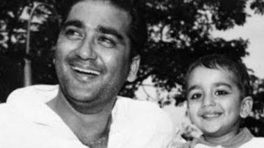पिता सुनील दत्त की बर्थ एनिवर्सरी पर संजय दत्त ने शेयर की अपने बचपन की तस्वीर, लिखा दिल छू लेने वाला मैसेज