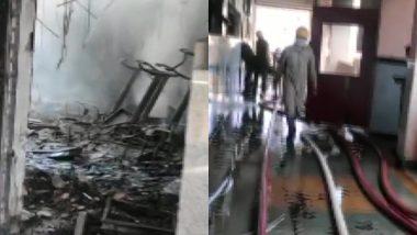 दिल्ली: रोहिणी कोर्ट की तीसरी मंजिल पर भीषण आग, मौके पर पहुंची दमकल की 9 गाड़ियां