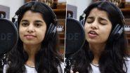 सिंगिंग सेंसेशन मैथिली ठाकुर ने गाया 'टाइटैनिक' का हिट सॉन्ग 'My Heart Will Go On', जीता फैंस का दिल (See Video)
