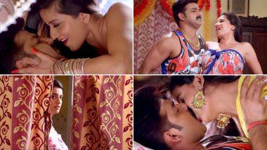 Bhojpuri Hot Song:पवन सिंह, मोनालिसा और अक्षरा सिंह के हॉट सॉन्ग 'दिया गुल करा रानी' ने इंटरनेट पर मचाया हडकंप, करोड़ों बार देखा गया Video