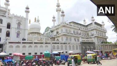 Unlock 1: इबादत के लिए कल से खुलेंगे मस्जिद, बेंगलुरु के जामिया मस्जिद में किए गए खास इंतजाम, बुजुर्गों व बच्चों को अंदर जाने की इजाजत नहीं
