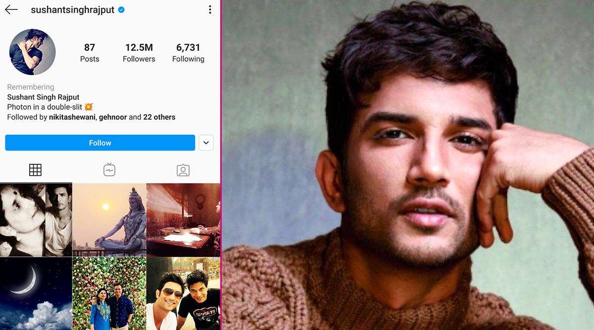 सुशांत सिंह राजपूत के निधन के बाद उनके Instagram अकाउंट मेंहुआ ये बड़ा बदलाव
