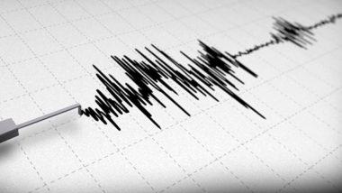 मिजोरम में चम्फाई के पास आया भूकंप, रिक्टर स्केल पर 4.5 मापी गई तीव्रता