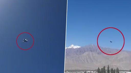 भारत-चीन तनाव: गलवान संघर्ष के बाद से लद्दाख में हवाई गतिविधियां तेज, लेह के आसमान में चक्कर काटते दिखे वायुसेना के लड़ाकू विमान- देखें Video