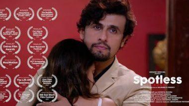सोनू निगम ने लॉकडाउन में एसिड अटैक के विषय पर बनाई शॉर्ट फिल्म 'स्पॉटलेस'