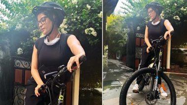 आयुष्मान खुराना की पत्नी ताहिरा कश्यप ने साइकिलिंग के प्रति जताया अपना प्यार