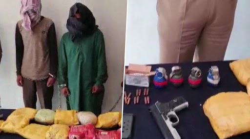 जम्मू-कश्मीर: कुपवाड़ा में नार्को-टेरर मॉड्यूल का भंडाफोड़, 65 करोड़ रुपए की ड्रग्स, 2 पिस्टल और 4 ग्रेनेड बरामद, 2 गिरफ्तार