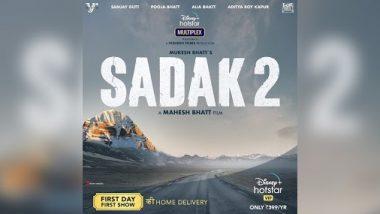 'सड़क 2' का पोस्टर हुआ लॉन्च तो सोशल मीडिया पर कुछ यूजर्स ने की फिल्म के बॉयकाट की मांग