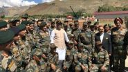रक्षामंत्री राजनाथ सिंह 17 जुलाई को करेंगे लद्दाख का दौरा, आर्मी चीफ एमएम नरवाणे भी होंगे साथ