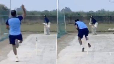मोहम्मद शमी अपनी गेंदबाजी में धार लाने के लिए फॉर्महाउस पर जमकर बहा रहे हैं पसीना, देखें वीडियो