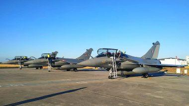 राफेल लड़ाकू विमानों की आज अंबाला एयरबेस पर होगी लैंडिंग, आसपास के 4 गांवों में लगाई गई धारा-144