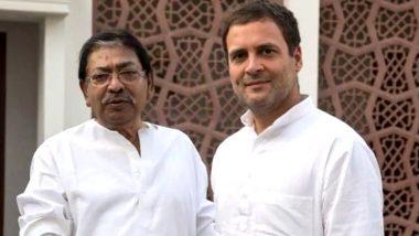 पश्चिम बंगाल कांग्रेस के प्रदेश अध्यक्ष सोमेन मित्रा का निधन, राहुल गांधी ने व्यक्त किया शोक