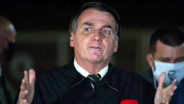 ब्राजील के राष्ट्रपति जेयर बोलसोनारो कोरोना वायरस से संक्रमित, जांच के बाद रिपोर्ट आई पॉजिटिव