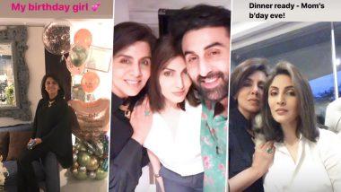 नीतू सिंह ने जन्मदिन पर परिवार संग किया सेलिब्रेट, बेटी रिद्धिमा कपूर साहनी ने शेयर की ये Inside Photos