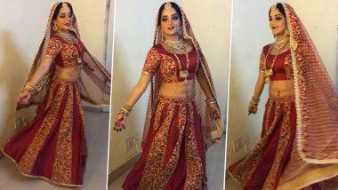 भोजपुरी एक्ट्रेस मोनालिसा बनी दुल्हन, Instagram Reels पर शेयर किया दिल जीत लेने वाला Video