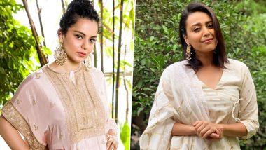 Swara Bhaskerने सुशांत सिंह राजपूत मामले को लेकर कंगना रनौत पर कसा तंज, अवॉर्ड वापसी वाले बयान पर पूछा ये सवाल!
