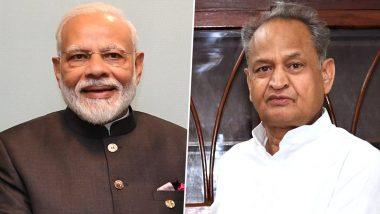 Rajasthan Political Crisis: सीएम अशोक गहलोत ने BJP पर लगाया आरोप, कहा- राजस्थान में हो रहे तमाशे को बंद करवाएं मोदी