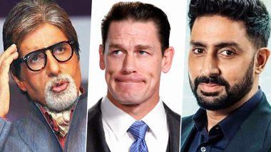 अमिताभ बच्चन-अभिषेक बच्चन की बेहतर सेहत की कामना करते हुए WWE स्टार जॉन सीना ने पोस्ट की ये फोटो