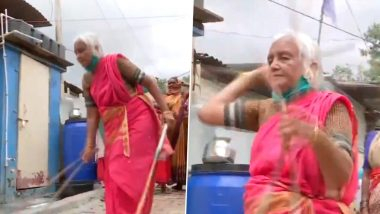 महाराष्ट्र: 85 साल की शांताबाई दो वक्त की रोटी के लिए पुणे के सड़कों पर दिखाती हैं लाठी काठी का हैरान कर देने वाला करतब, देखें VIDEO