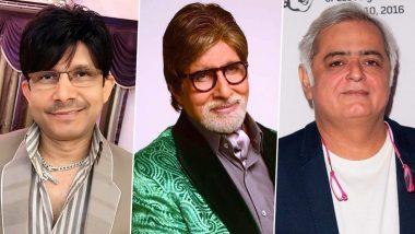 KRK को ट्विटर पर अनफॉलो करें अमिताभ बच्चन! निर्देशन हंसल मेहता ने Change.org पर चलाई मुहीम