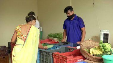 मुंबई: लॉकडाउन की वजह से स्कूल से निकाले जानें के बाद फुटबॉल ट्रेनिंग टीचर बेच रहा है सब्जियां