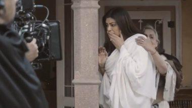 आर्या: डायरेक्टर के कट बोलने के बाद भी रोती रहीं सुष्मिता सेन, एक्ट्रेस ने शेयर किया शूटिंग का ये इमोशनल Video