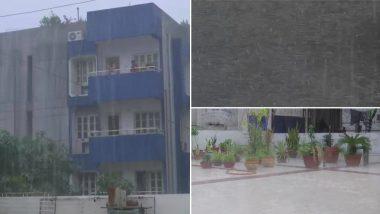 बिहार: राजधानी पटना सहित अन्य जिलों में हुई मुसलाधार बारिश, देखें तस्वीर