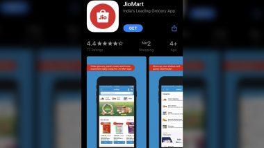 JioMart ऐप Google Play Store और Apple ऐप स्टोर पर डाउनलोड के लिए उपलब्ध, रिलायंस के इस ग्रोसरी खरीदारी प्लेटफॉर्म के बारे में जानें