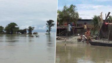 Assam Floods: बाढ़ में बह गए डिब्रूगढ़ के दो गांव, 95 परिवार शेल्टर होम में रहने को मजबूर, अब तक 89 की मौत