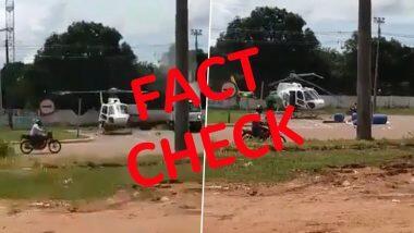 अमृतसर में नहीं हुई हेलिकॉप्टर-ट्रक की टक्कर, जानें सोशल मीडिया पर वायरल हो रहे वीडियो की पूरी सच्चाई