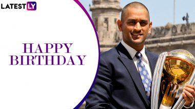 Happy Birthday MS Dhoni: टीम इंडिया को हर बड़े खिताब दिलाने वाले पूर्व कप्तान महेंद्र सिंह धोनी मना रहे हैं 39वां जन्मदिन, जानें कैसा रहा उनका क्रिकेट करियर