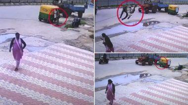 बेंगलुरु: तार में फंसकर ऑटो ड्राइवर हवा में उड़ा, जाकर गिरा महिला के उपर, लगे 52 टांके, देखें हैरान कर देने वाला VIDEO