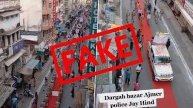 Fact Check: क्या राजस्थान के पुलिसकर्मियों ने लॉकडाउन के बाद हाजिरी लगाने के लिए किया था अजमेर शरीफ दरगाह का दौरा? पुलिस ने कहा- वह कोविड-19 जागरूकता मार्च था