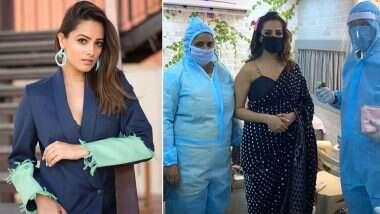 नागिन 4 के सेट से एक्ट्रेस अनिता हसनंदानी ने मास्क पहने हुए शेयर की फोटो, बताया किस माहौल में हो रही शूटिंग