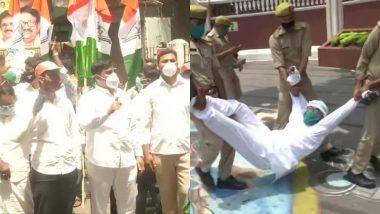 Rajasthan Political Crisis: राजस्थान के घटनाक्रम को लेकर कांग्रेस का दिल्ली में प्रदर्शन, कई नेता गिरफ्तार
