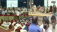 मध्यप्रदेश: शिवराज सिंह चौहान के मंत्रिमंडल में 20 केबिनेट मंत्रियों ने ली शपथ